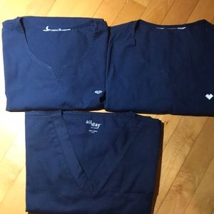 Scrub Tops bundle size XS/S
